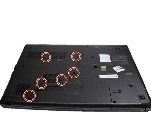 Remove the six 9mm screws from the back panel with a #0 Phillips scrwdriver.