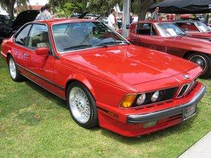 1985-1989 BMW 635CSi Repair