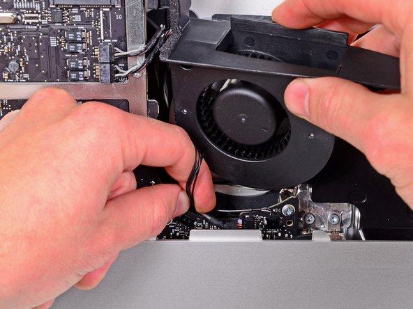 "iMac Intel 21.5"" EMC 2389 Optical Drive Fan Replacement"
