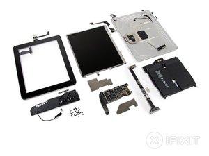 iPad Wi-Fi Teardown