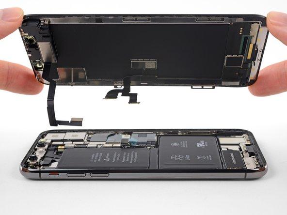 Reemplazo de ensamblaje de pantalla para el iPhone X