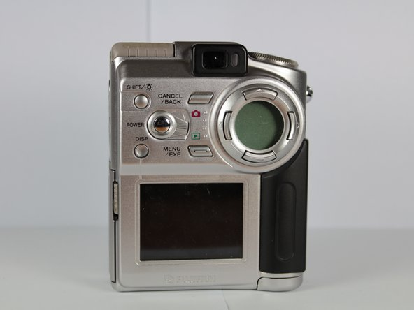 Fujifilm FinePix 4700 Zoom Back Cover Replacement