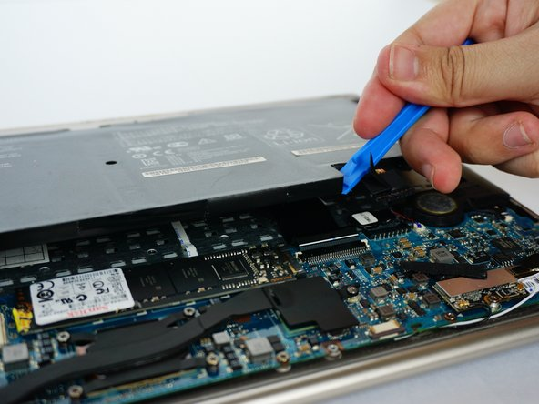 Remove the battery. (Picture-1)