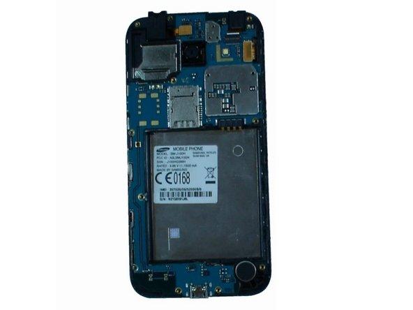 Samsung Galaxy J1 Logic Board, Main Camera, Front Camera, Earpiece, Loudspeaker  Replacement