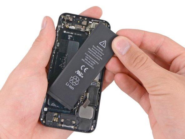 iPhone 5 Akku tauschen