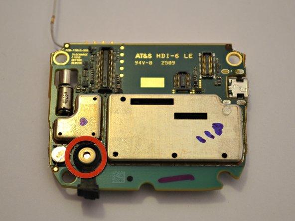 BlackBerry Curve 8900 Microphone Replacement