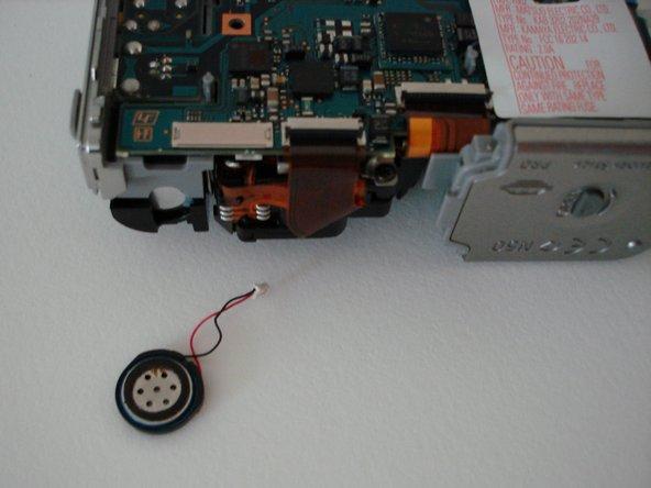 Sony Cyber-shot DSC-W5 Speaker Replacement