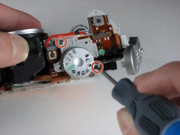 Remplacement des haut-parleurs Canon Powershot A70