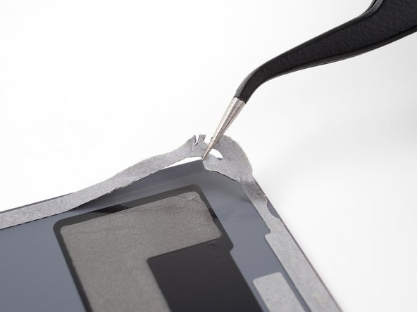 Follow this guide to reinstall the back cover and replace the adhesive.