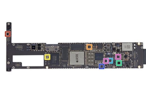 Even, even more chips on the logic board: