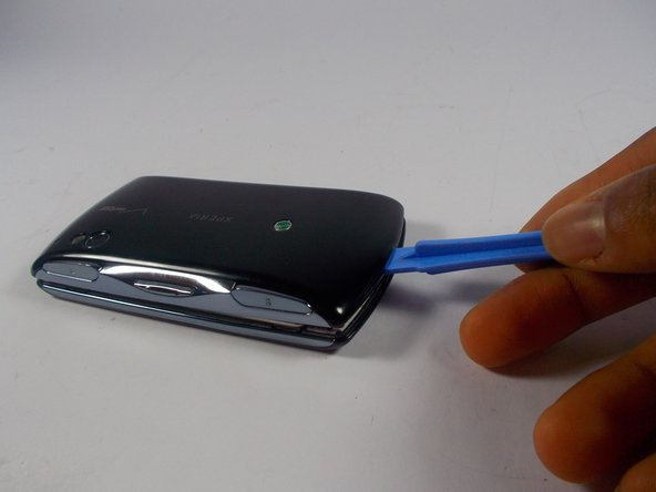 To remove the cover, use plastic removal tool on the seam of the case.