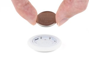 AirTag Vervanging van de batterij