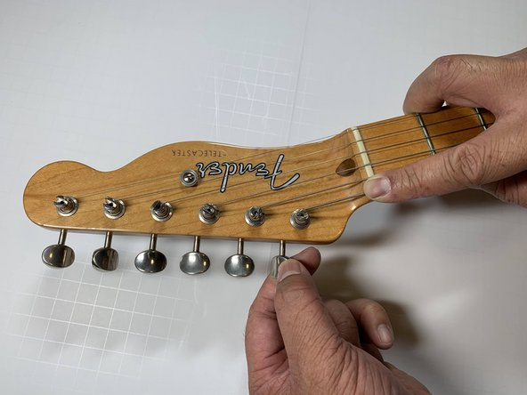 Telecaster Guitar String(s) Replacement
