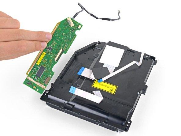 Remove the PCB.