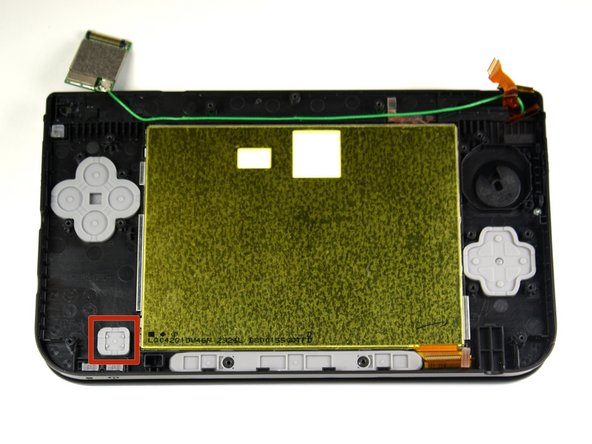 Nintendo 3DS XL Power Button Replacement