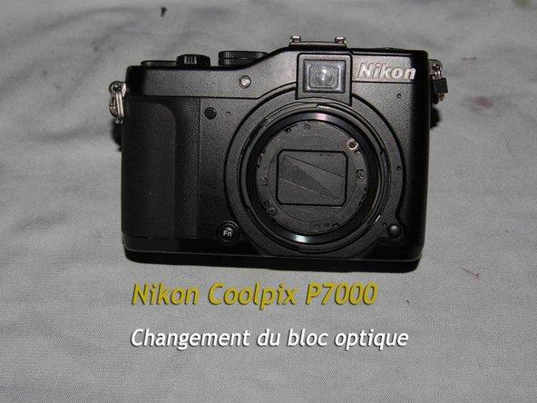 Nikon Coolpix P7000 Teardown