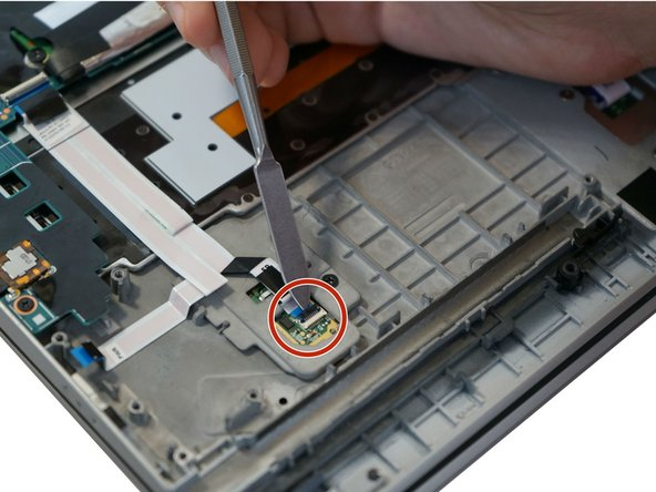 Lenovo ThinkPad X1 Yoga 2nd Generation Touch ID Replacement
