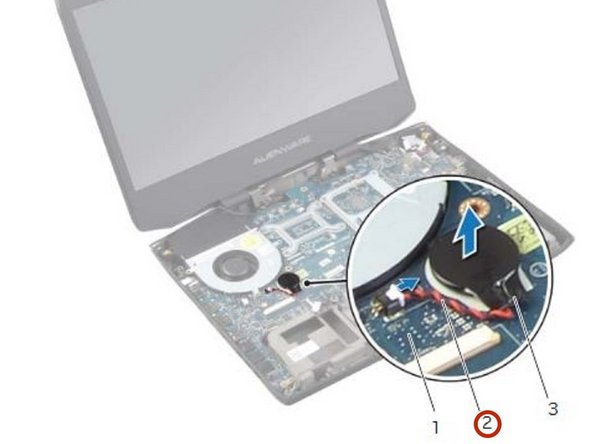 Dell Alienware 14 Coin-Cell Battery Replacement