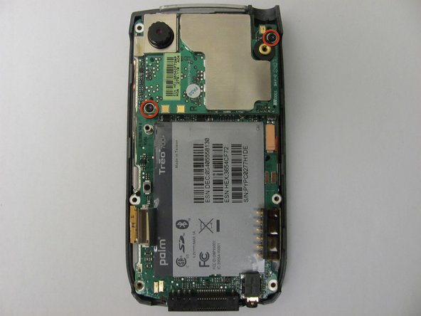 Remove the antenna chip by unscrewing the two screws with Torx T-5 screwdriver (Picture 1).