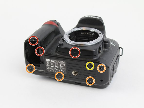 Nikon D80 Bottom Cover Replacement