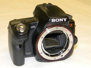 Sony Alpha SLT-A55V Repair