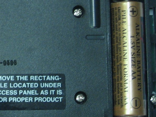 Texas Instruments TI-92 Batteries Replacement