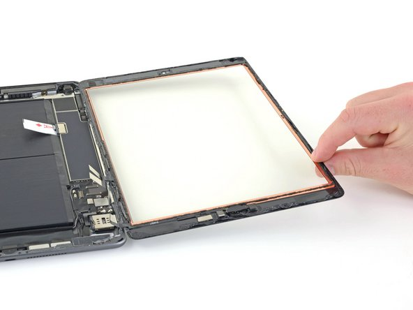Remove the front panel assembly.