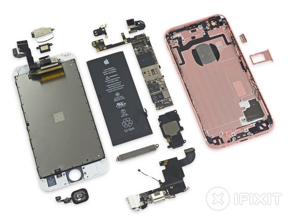 The iPhone 6s keeps up the decent work, earning a 7 out of 10 on the Repairability scale: