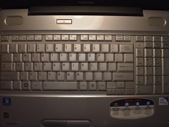 Toshiba Satellite L505 Laptop Keyboard Replacement