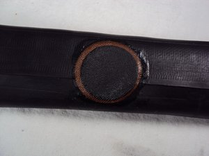 Repairing GEN 2 Wheelchair Patching a Tire Tube