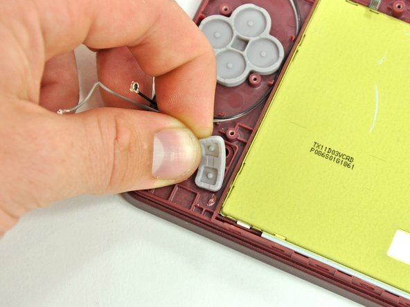 Nintendo DSi XLのStart/Selectボタンの交換