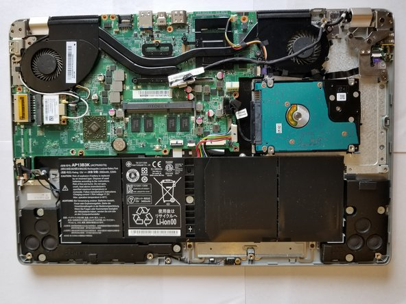 Acer Aspire V5-552PG-X469 Hard drive Replacement