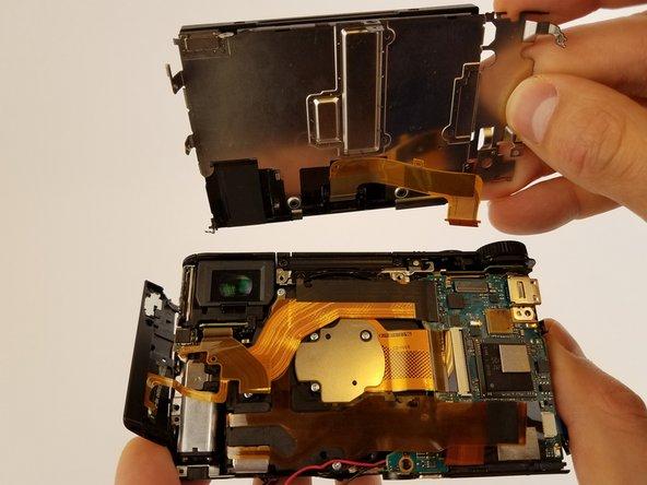 Sony Cyber-shot DSC-HX90V LCD Replacement