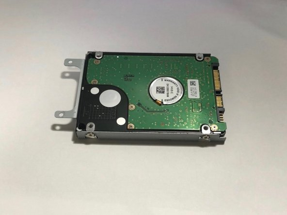 Lenovo IdeaPad Y410p Hard Drive Replacement