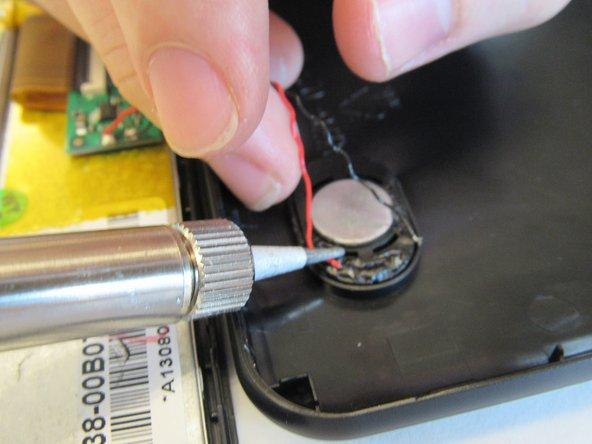 Repairing RCA RCT6378W2 Speaker