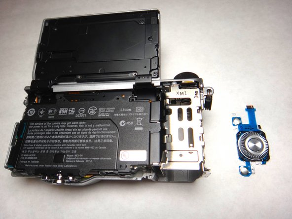Sony NEX-5R Main Navigation Button Replacement