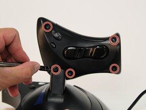 J1 Screws on Throttle