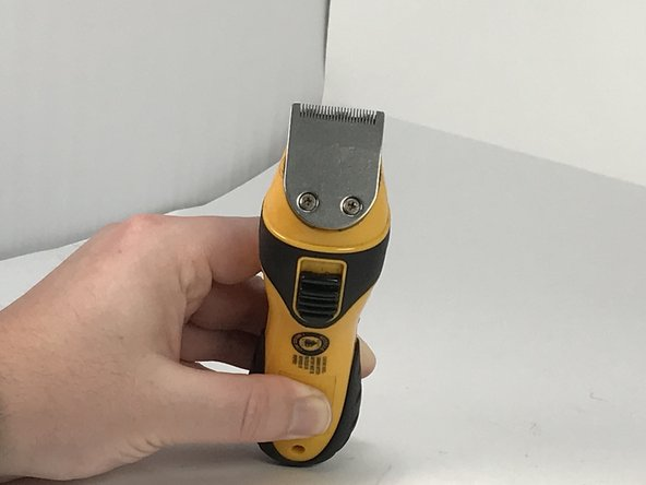 How To Replace the Battery on a Conair Trimmer (GMT15NCS)