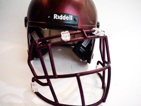 Riddell Revo SPEED Football Helmet Quick Release Facemask Hardware Bolts Kit