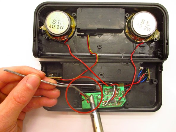 Read the manufacturer instructions for your specific soldering iron before use. Follow all safety instructions and solder at your own risk.