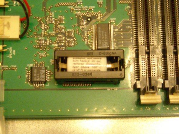 The PRAM battery!
