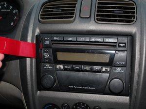 1998-2003 Mazda Protégé Radio LCD Screen Repair.