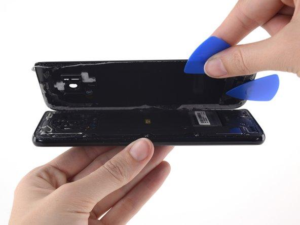 Remplacement de la vitre arrière complète du Samsung Galaxy S8