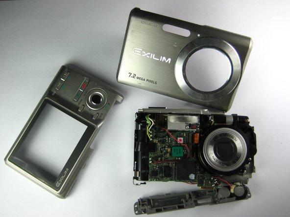 Casio Exilim EX-Z70 Camera Casing Replacement