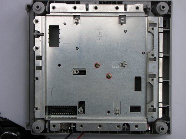 If you lift the mainboard up, you'll see a metal plate, probably for EMI-protection. Remove the two screws holding it and you have access to the internal power supply.