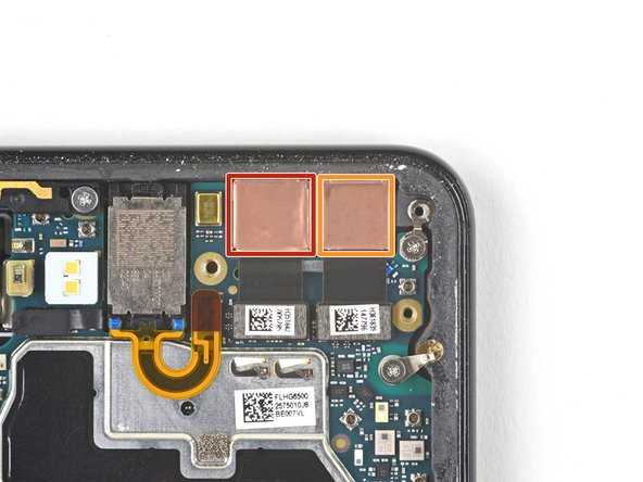 If you are replacing front-facing cameras, determine which one you need to replace:
