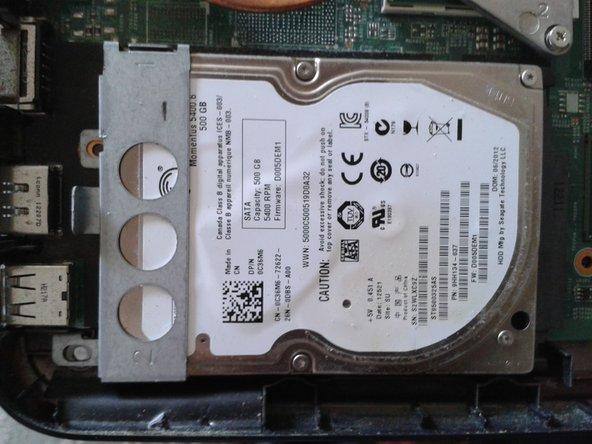 Reemplazo de disco duro de laptop Dell Inspiron N4050