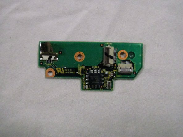 Panasonic Toughbook CF-29 Trackpad Board Replacement