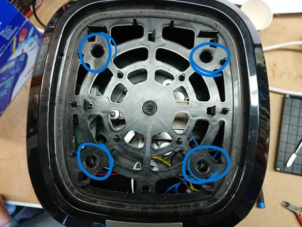Remove 4 screws on top.
