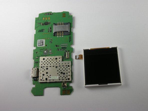 Remplacement de l'écran du LG KP100